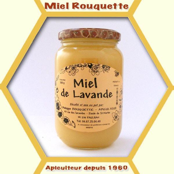 MIEL DE LAVANDE 500 g cremeux