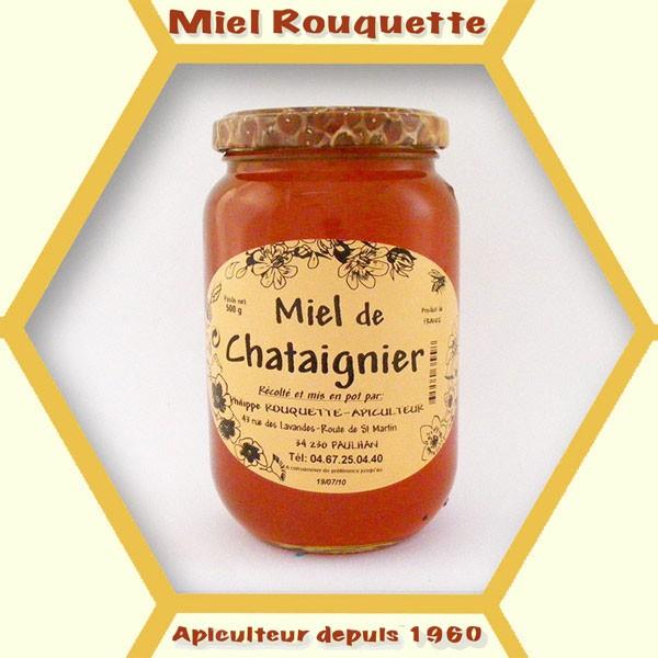 MIEL DE CHATAIGNIER 500 g