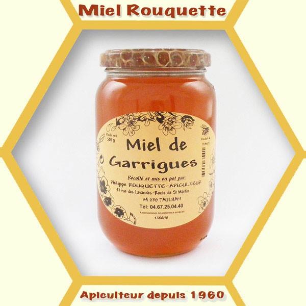 MIEL DE TOUTES FLEURS GARRIGUES 500 g