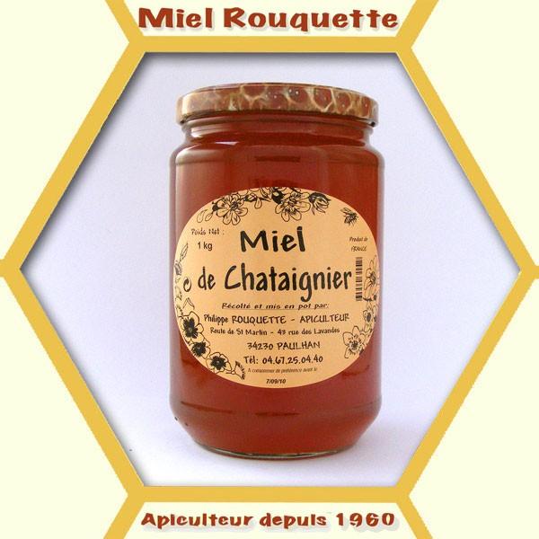 MIEL DE CHATAIGNIER KG
