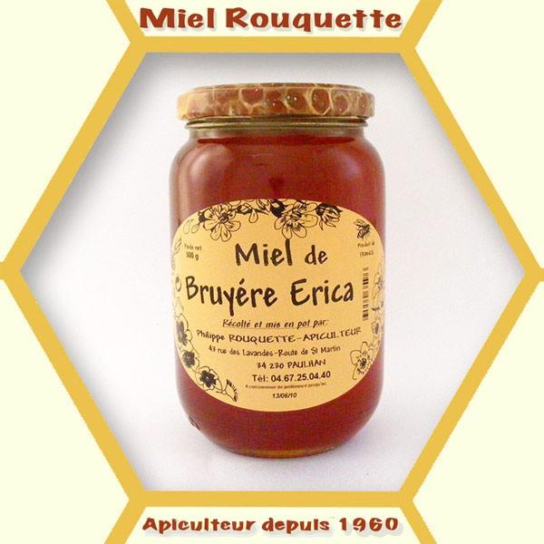 MIEL DE BRUYERE ERICA 500 g