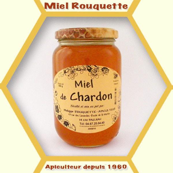 MIEL DE CHARDON 500 g