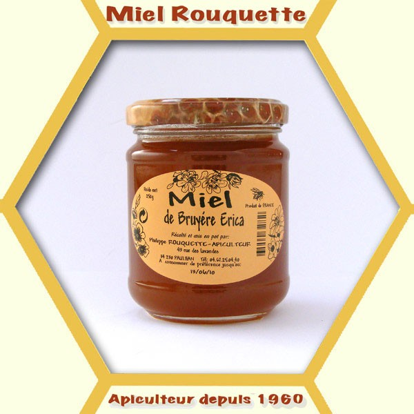 MIEL DE BRUYERE ERICA 250 G