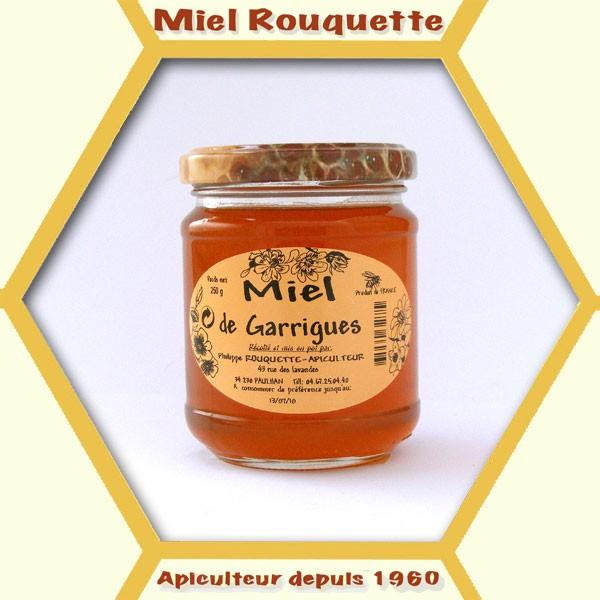 MIEL DE FLEURS DE GARRIGUES 250 G