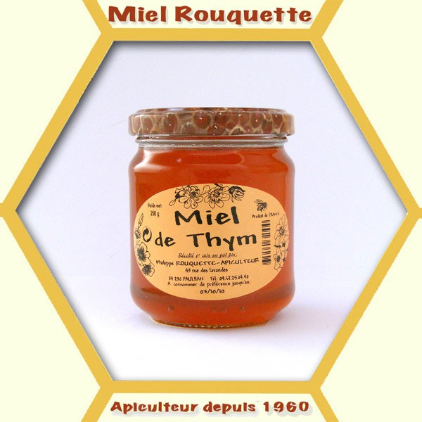 MIEL DE THYM 250 G