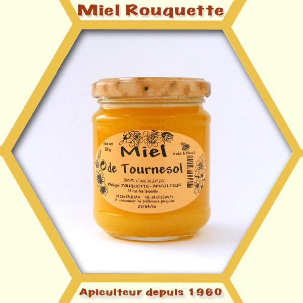 MIEL DE TOURNESOL 250 G