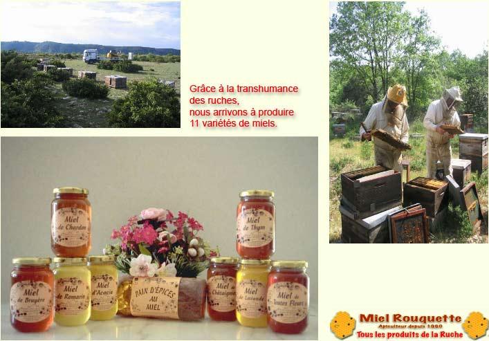miel de thym rouquette